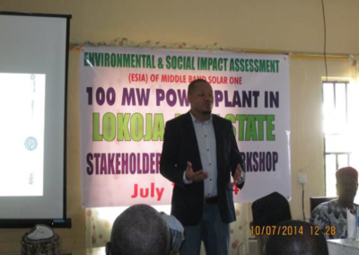 ESIA Stakeholders Engagement