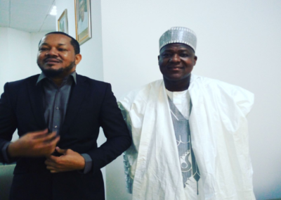 Advocacy with Rt.Hon Y. Dogara, Speaker of the Parliament