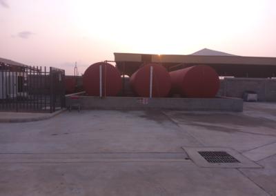 100,000 Liters of diesel and reduced carbon footprint at Solar-Diesel C&I site