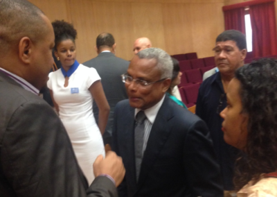 International Capacity Building:  In Cape Verde Engaging the Prime Minister